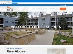 An inexpensive property management web design