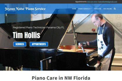 Small business website design companies in NW Florida